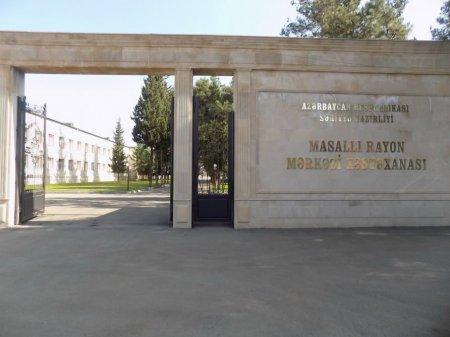 Masallı Rayon Mərkəzi Xəstəxanası əsaslı təmirdən sonra istifadəyə verildi