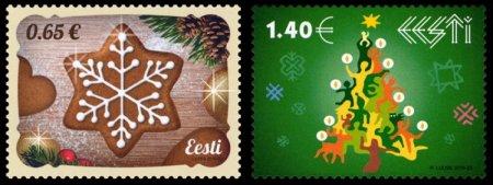 Estoniyada darçın ətirli milad poçt markası istehsal ediləcək