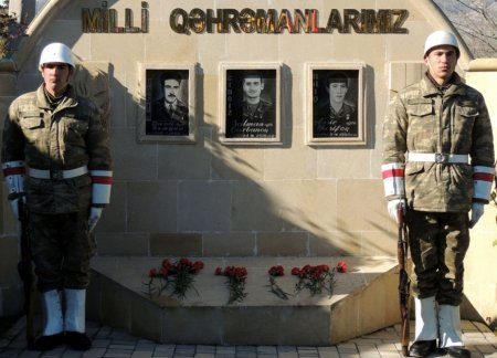 Milli Qəhrəmanın anım günü keçirilib