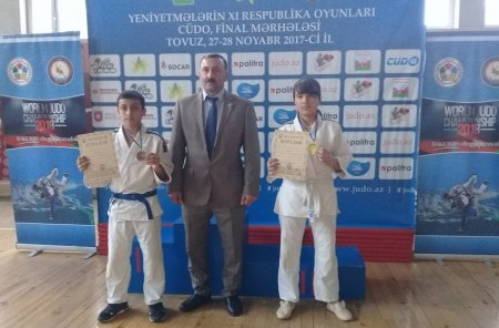 Masallı cüdoçuları XI Respublika Oyunlarında 1 qızıl, 2 bürünc medal qazanıblar