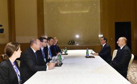 Prezident İlham Əliyev Estoniyanın xarici işlər nazirini qəbul edib