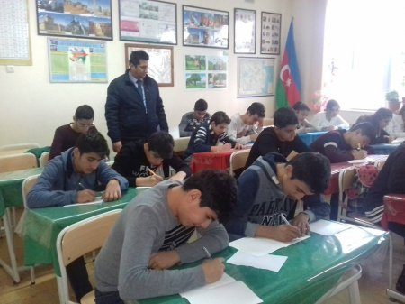 """""""Ölkəmizi tanıyaq"""" tur- aksiya iştirakçıları arasında inşa müsabiqəsi"""