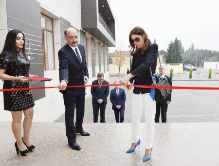 Birinci vitse-prezident Mehriban Əliyeva Rostropoviçlər adına Musiqi Məktəbinin yeni binasının açılışında iştirak edib