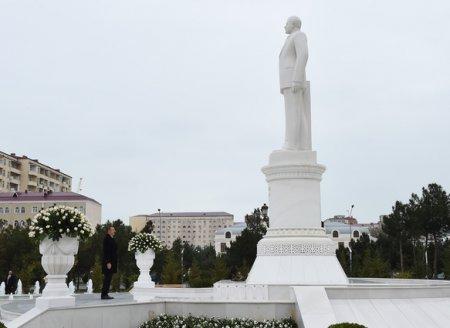 Azərbaycan Prezidenti İlham Əliyev Sumqayıtda bir sıra obyektlərin açılışında iştirak edib