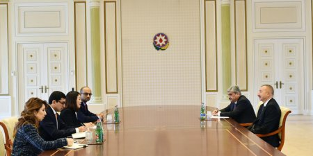 Azərbaycan Prezidenti İlham Əliyev Dünya Bankının nümayəndə heyətini qəbul edib