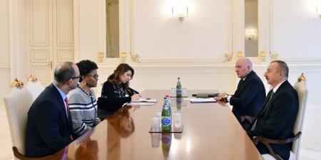 Prezident İlham Əliyev Dünya Bankının Cənubi Qafqaz üzrə regional direktorunu qəbul edib