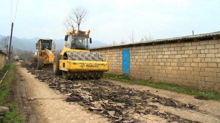Masallıda 32 min əhalinin yaşadığı kəndlərin yolları yenidən qurulur