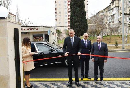 Prezident İlham Əliyev Bakı Şəhər Statistika İdarəsinin yeni inzibati binasının açılışında iştirak edib