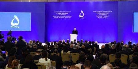 Prezident İlham Əliyev VI Qlobal Bakı Forumun açılışında iştirak edir