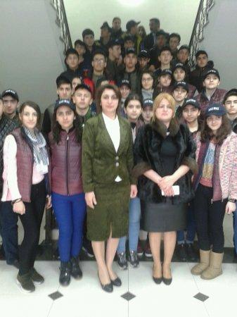 """""""Ölkəmizi tanıyaq"""" tur-aksiyasının iştirakçıları Masallıda"""