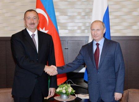 Prezident İlham Əliyev Rusiya Federasiyasının Prezidenti Vladimir Putinə telefonla zəng edib