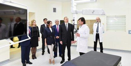 Prezident İlham Əliyev Bakıda Bona Dea Beynəlxalq Hospitalının açılışında iştirak edib