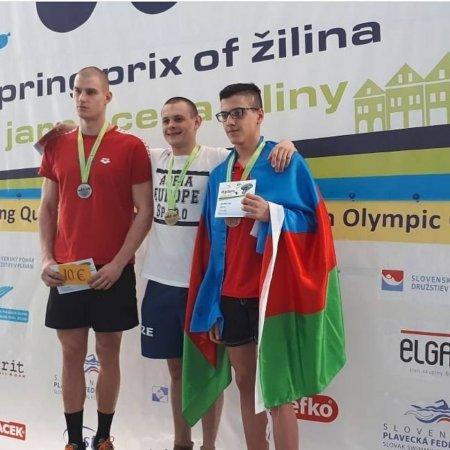 Masallılı üzgüçü açıq Slovakiya birinciliyində bürünc medal əldə edib