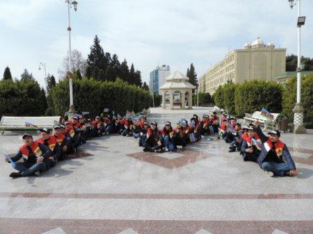 Masallı məktəblilərinin Quba-Qusar-Xaçmaz marşrutu üzrə ekskursiyası başa çatıb