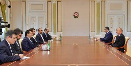 Prezident İlham Əliyev İranın rabitə və informasiya texnologiyaları nazirinin başçılıq etdiyi nümayəndə heyətini qəbul edib