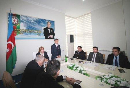 """Masallıda """"Sağlam həyat naminə narkotikə yox deyək"""" maarifləndirmə tədbiri"""