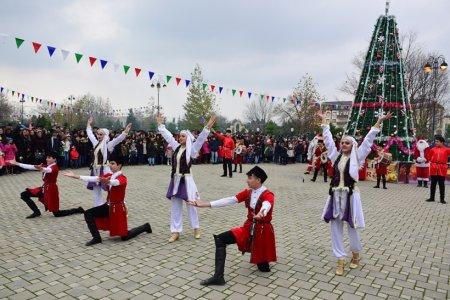 Masallıda Dünya Azərbaycanlılarının Həmrəyliyi Günü və Yeni il münasibətilə ümumrayon tədbiri