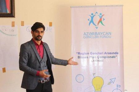 """Masallıda """"Region gəncləri arasında Biznes Plan çempionatı"""" layihəsinə start verilib"""