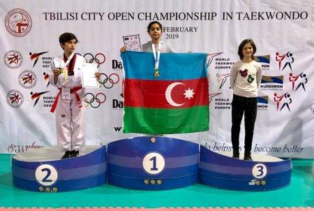Beynəlxalq turnirdə Masallı taekvondoçuları 3 medal qazanıblar