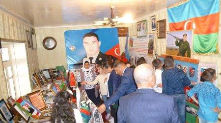 Masallı məktəbliləri Mübariz İbrahimovun ev muzeyini ziyarət ediblər