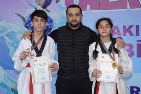 Açıq Bakı birinciliyində Masallı taekvondoçuları 1 qızıl, 1 bürünc medal qazanıblar