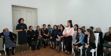 Masallıda özəl sektor və mikro sahibkar qadınların görüşü keçirilib