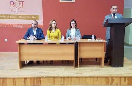 """Masallı Dövlət Regional Kollecində """"Sağlam gəncliyimiz"""" adlı maarifləndirici konfrans keçirilib"""