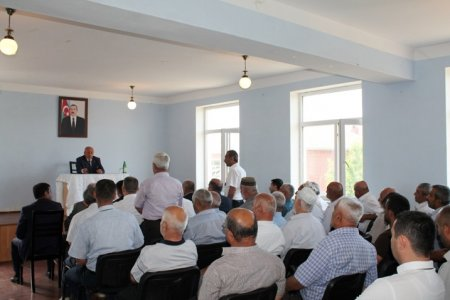 Masallı RİH başçısının Yeyənkənd ərazisində səyyar-görüş qəbulu