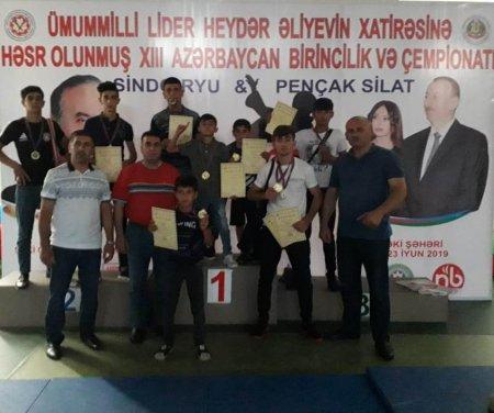 Masallı karateçiləri 7 qızıl, 6 gümüş və 3 bürünc medal qazanıb