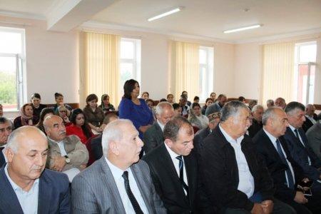 Masallı RİH başçısının Çaxırlı ərazisində səyyar görüş-qəbulu