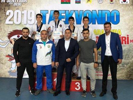 """Masallı taekvondoçusu V """"Koreya səfiri"""" kuboku yarışında gümüş medal qazanıb"""
