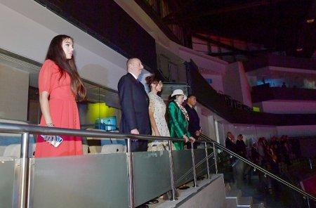 Prezident İlham Əliyev bədii gimnastika üzrə 37-ci dünya çempionatının açılış mərasimində iştirak edib