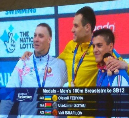 Masallılı üzgüçü dünya çempionatında bürünc medal qazanıb