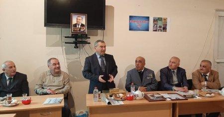 Masallıda tanınmış jurnalist Həsənağa Əliyevin 70 illik yubileyi keçirilib
