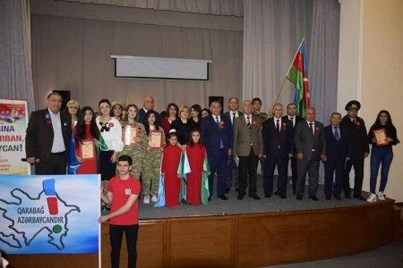 """""""Bayrağına canım qurban, Azərbaycan!"""" – Masallıda tədbir"""