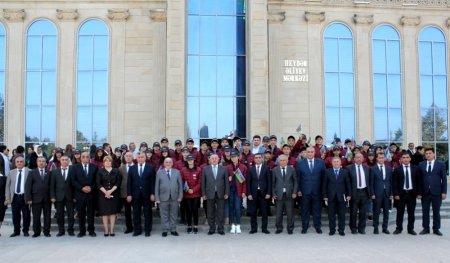"""Masallıda """"Ölkəmizi tanıyaq"""" tur-aksiya iştirakçıları ilə görüş keçirilib"""