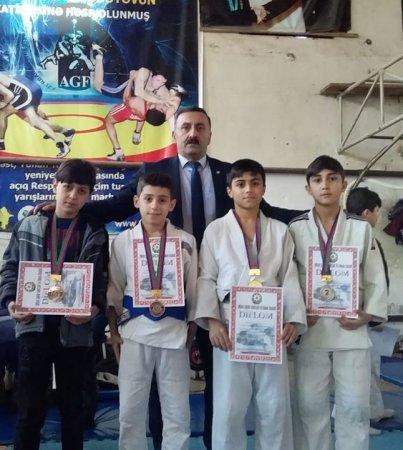 Masallı cüdoçuları Şirvandan evə 11 medalla qayıdıblar