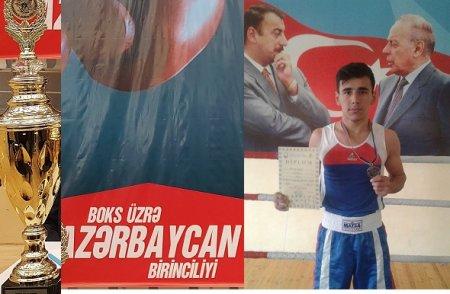 Masallı boksçusu respublika birinciliyinin bürünc medalına sahib olub