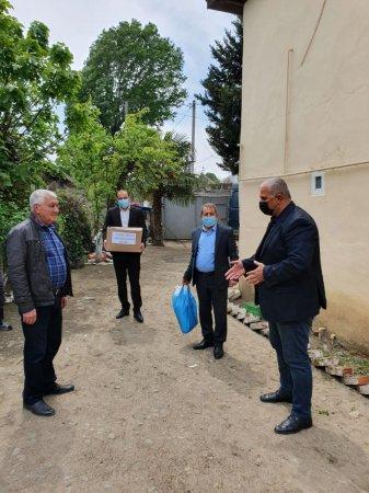 Masallıda veteran idmançılara ərzaq yardımı