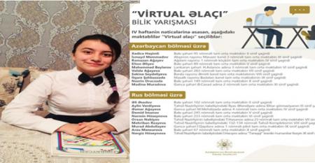"""Masallı məktəbliləri """"Virtual əlaçı"""" bilik yarışmasının qalibidir"""