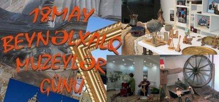 18 may Beynəlxalq Muzeylər günüdür