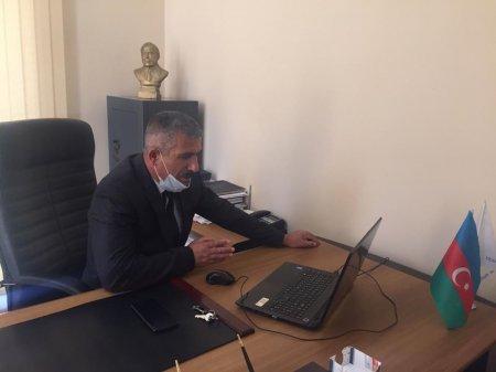 Milli Qurtuluş Günü münasibətilə YAP Masallı rayon təşkilatında onlayn görüş