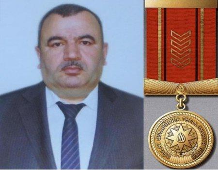 """Kərim Ağayev """"Dövlət qulluğunda fərqlənməyə görə"""" medalı ilə təltif olunub - MASALLI"""