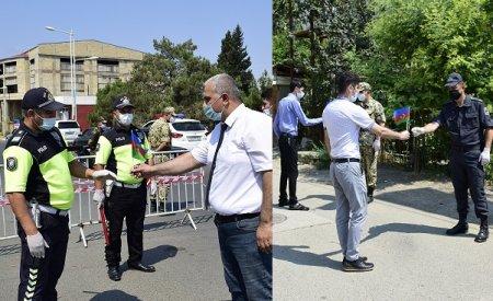 """MASALLIDA """"MƏNİM POLİSİM"""" ADLI SOSİAL AKSİYA KEÇİRİLİB"""