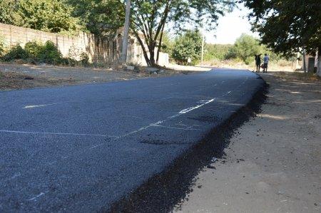 Masallıda daha bir küçənin asfaltlanması yekunlaşdı
