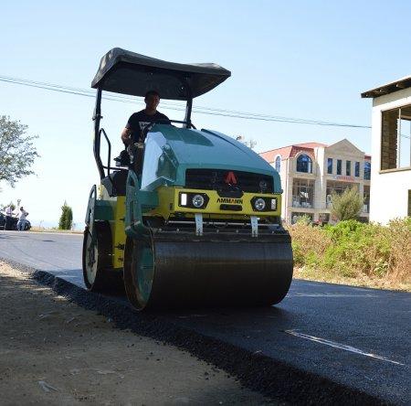 Masallı şəhər ərazisində asfaltlanma işləri davam etdirilir