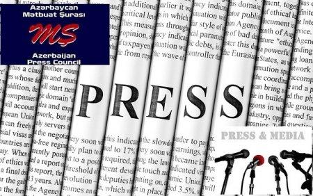Mətbuat Şurasının jurnalistlərə müraciəti