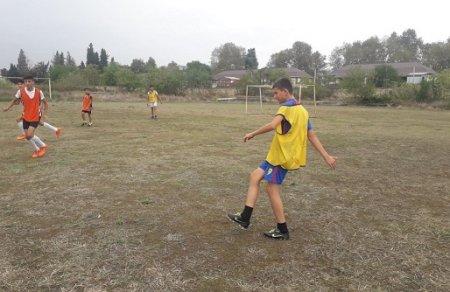 """""""Könüllülər Kuboku""""nun Masallı rayonu üzrə mini-futbol yarışı"""