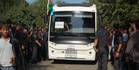 Masallıda çağırışçı gənclər hərbi xidmətə yollanıblar
