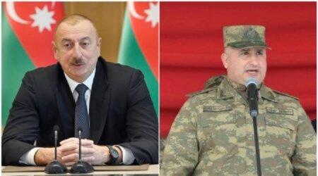 Prezident 1-ci Ordu Korpusunun komandirini Madagizin işğaldan azad olunması münasibətilə təbrik edib